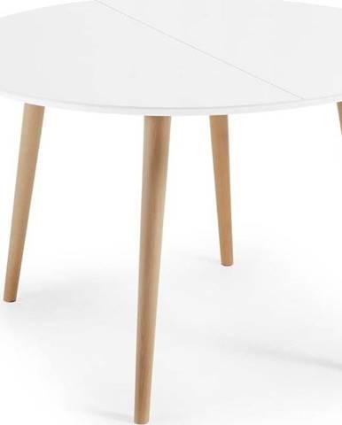 Rozkládací jídelní stůl La Forma Oakland, ⌀ 120 cm