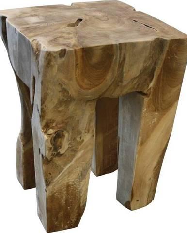Stolička z teakového dřeva HSM collection Keta