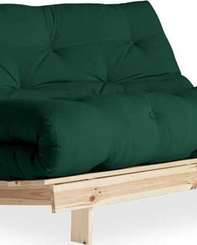 Variabilní pohovka Karup Design Roots Raw/Dark Green