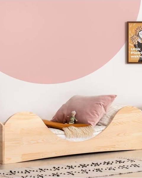 Adeko Dětská postel z borovicového dřeva Adeko Pepe Adel,80x180cm