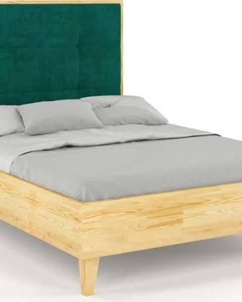 SKANDICA Dvoulůžková postel z borovicového dřeva Skandica Frida, 160x200cm