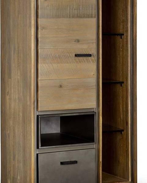 Furnhouse Nástěnná skříňka z akáciového dřeva Furnhouse Malaga Duo