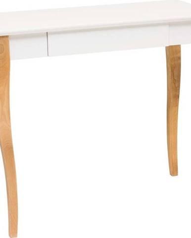 Bílý psací stůl Ragaba Lillo,délka85 cm