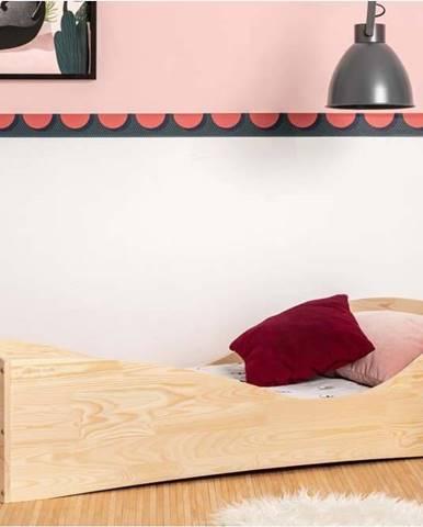 Dětská postel z borovicového dřeva Adeko Pepe Elk,80x160cm