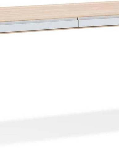 Pracovní stůl z dubového dřeva Gazzda Ena, 140x60cm