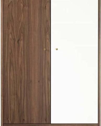 Šatní skříň Woodman Flora Walnut