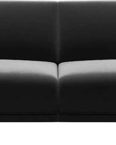 Tmavě šedá sametová pohovka MESONICA Puzzo, 170 cm