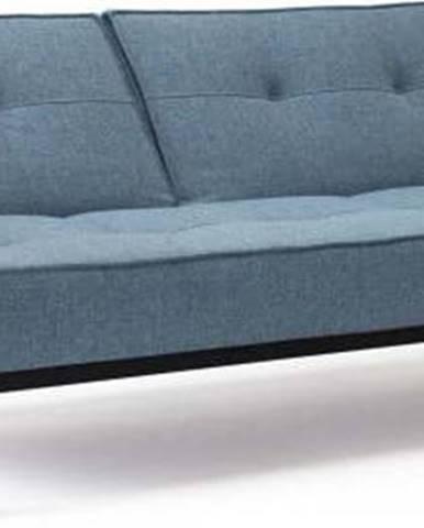 Světle modrá rozkládací pohovka Innovation Splitback Frej Mixed Dance Light Blue