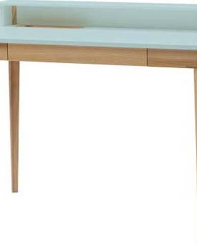 Světle tyrkysový pracovní stůl Ragaba ASHME