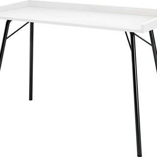 Bílý pracovní stůl Woodman Rayburn