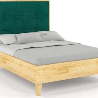 Dvoulůžková postel z borovicového dřeva Skandica Frida, 160x200cm