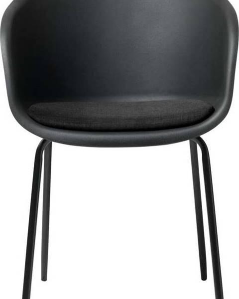 Unique Furniture Černá jídelní židle Unique Furniture Topley