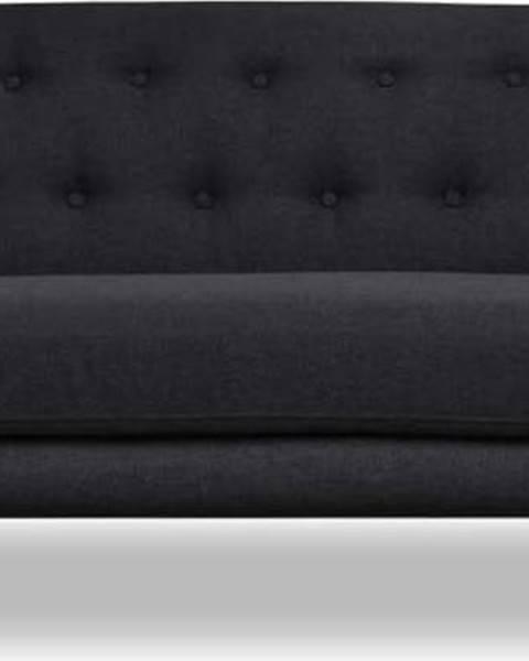 Cosmopolitan design Tmavě šedá pohovka Cosmopolitan design Hampstead, 192 cm