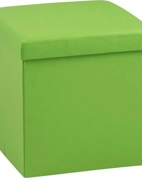 Actona Zelený puf s úložným prostorem Actona Sada
