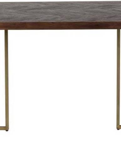Jídelní stůl s ocelovou konstrukcí Dutchbone Aron, 180 x 90 cm