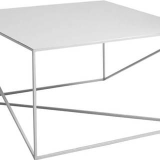 Šedý konferenční stolek Custom Form Memo, 100x100cm