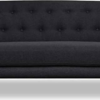 Tmavě šedá pohovka Cosmopolitan design Hampstead, 192 cm