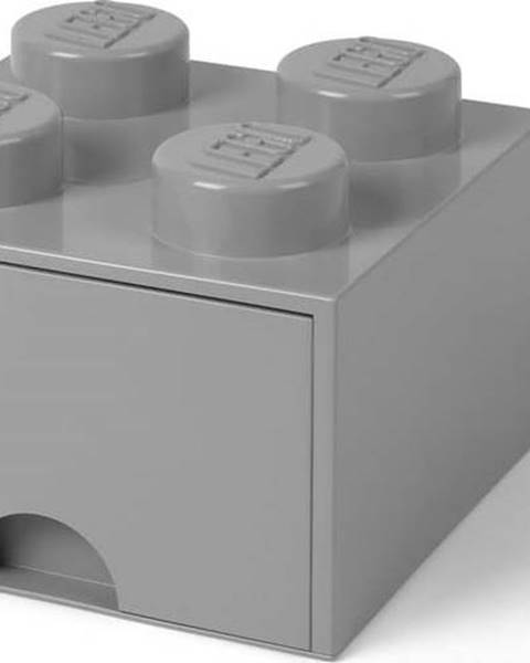 LEGO Šedý úložný box čtverec LEGO®