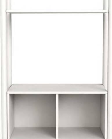 Bílá dětská knihovna Flexa Shelfie, výška 131.6 cm