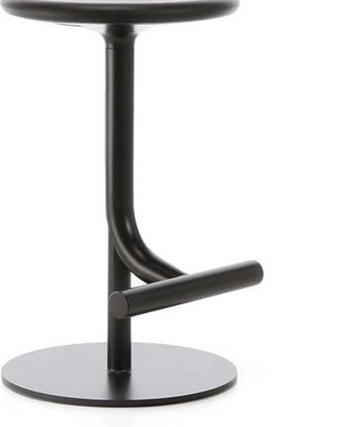 Černá barová židle Magis Tibu, výška60cm