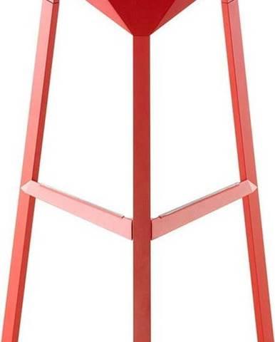Červená barová židle Magis Officina, výška74cm