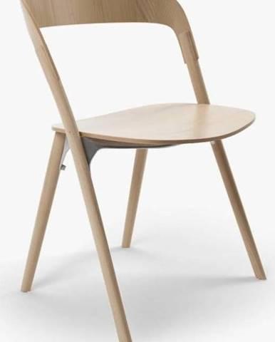 Jídelní židle z jasanového dřeva Magis Pila
