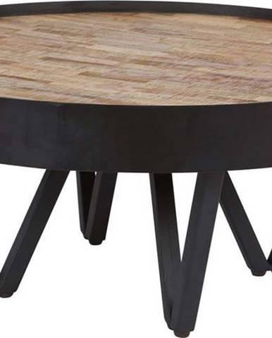 Konferenční stolek s deskou z mangového dřeva WOOOD Dax