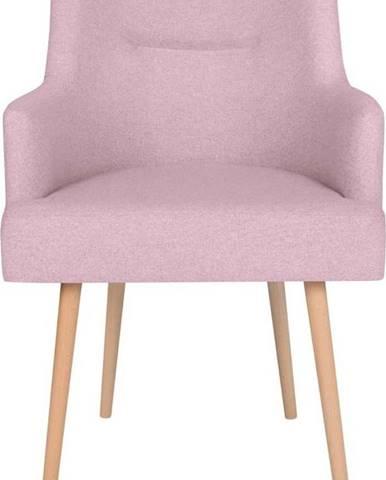 Růžová jídelní židle Cosmopolitan Design Venice
