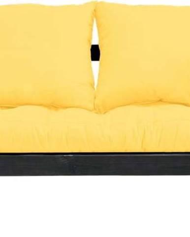 Variabilní pohovka Karup Design Beat Black/Yellow