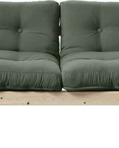 Variabilní pohovka Karup Design Step Natural Clear/Olive Green