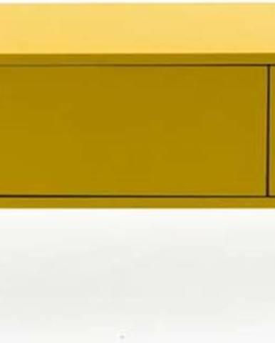 Žlutá nízká komoda Tenzo Uno, šířka 171cm