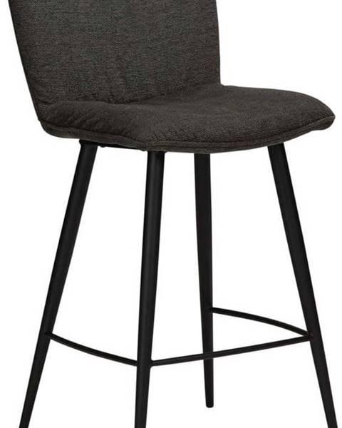 DAN-FORM Denmark Černá barová židle DAN-FORM Denmark Join, výška 93 cm