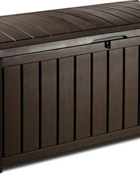 Keter Hnědý zahradní úložný box Keter, 65 x 61 cm