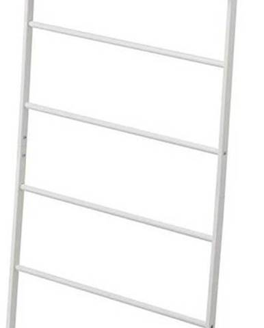 Bílý věšák s poličkou YAMAZAKI Tower Ladder