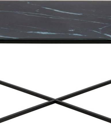 Černý konferenční stolek Actona Alisma