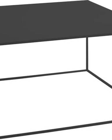 Černý konferenční stolek Custom Form Tensio, 80x80cm