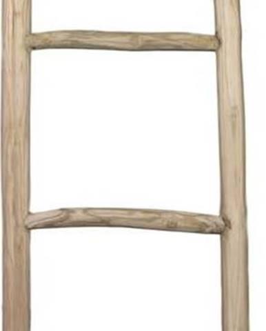 Dekorativní žebřík z teakového dřeva HSMcollection Fallo