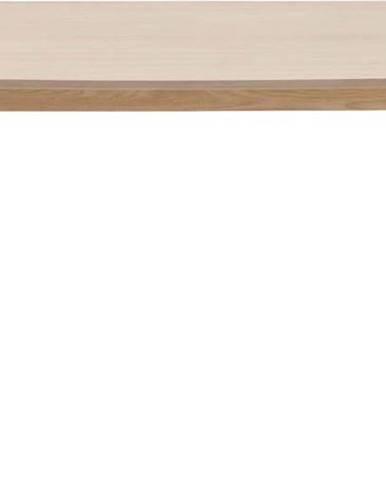 Jídelní stůl s podnožím z dubového dřeva Actona Nagano,150x80cm