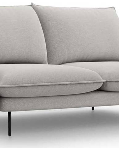 Světle šedá pohovka Cosmopolitan Design Vienna,160 cm