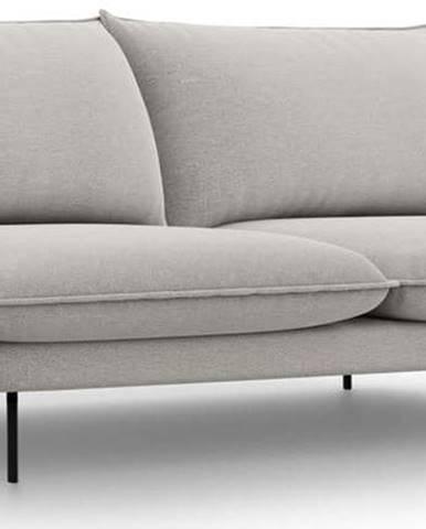 Světle šedá pohovka Cosmopolitan Design Vienna,200 cm