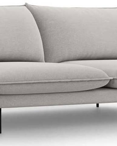 Světle šedá pohovka Cosmopolitan Design Vienna,230 cm