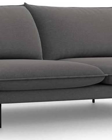Tmavě šedá pohovka Cosmopolitan Design Vienna,230 cm