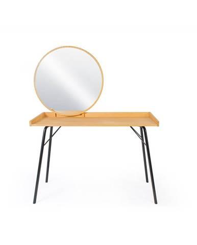 Toaletní stolek v dubovém dekoru Woodman Rayburn