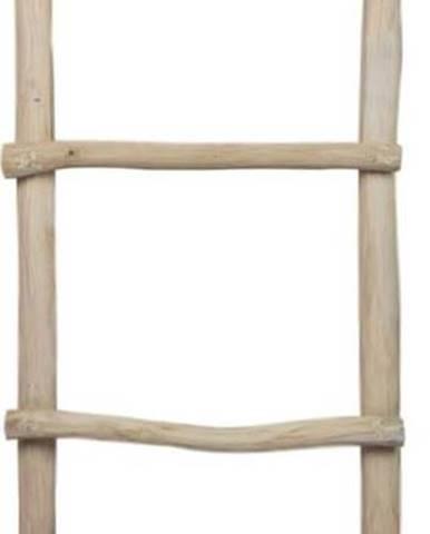 Žebřík z teakového dřeva HSMcollection Demio