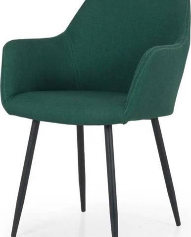 Zelená jídelní židle Tenzo Linn