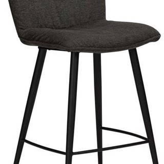 Černá barová židle DAN-FORM Denmark Join, výška 93 cm
