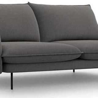 Tmavě šedá pohovka Cosmopolitan Design Vienna,200 cm
