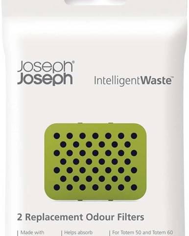 Sada 2 náhradních uhlíkových filtrů Joseph Joseph IntelligentWaste Odour Filters