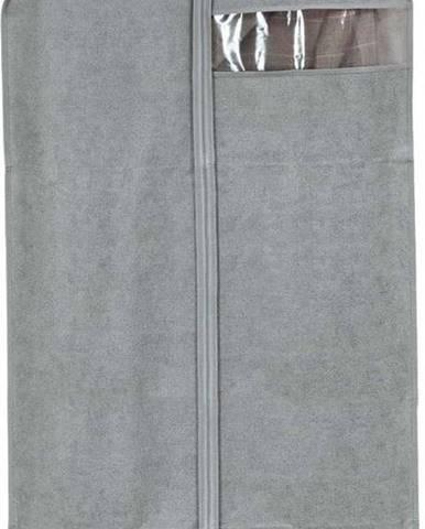 Šedý obal na šaty Domopak Stone