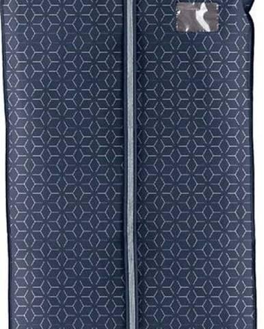 Tmavě modrý obal na šaty Domopak Metrik